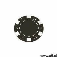 Żeton plastikowy 11,5g /czarny/, P-0014-B - ogłoszenia A6.pl