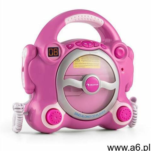 Auna pocket rocker odtwarzacz cd sing-a-long 2 x mikrofon zasilanie z baterii (4260435915775) - 1