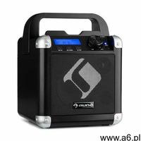 bc-1 zestaw karaoke bluetooth baterie rączka usb aux-in czarny marki Auna - ogłoszenia A6.pl