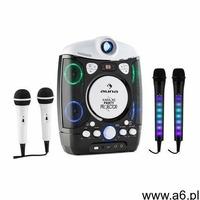 Auna kara projectura zestaw do karaoke czarny + kara dazzl zestaw mikrofonów led - ogłoszenia A6.pl