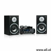 Auna karaoke star 3 zestaw do karaoke 2 x 75 w bt port usb line-in 2 x mikrofon - ogłoszenia A6.pl