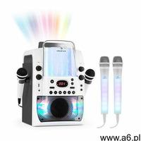kara liquida bt zestaw karaoke szary 2 mikrofony dazzl led marki Auna - ogłoszenia A6.pl