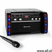 Auna Zestaw karaoke Disco Fever Odtwarzacz CD-/CD+G uchwyt na tablet (4260365799766) - ogłoszenia A6.pl