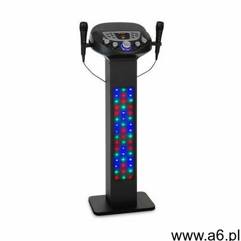 Auna karabig, lightup, system karaoke, bt, 2x mikrofon, multicolor, usb, 40 w rms, 640 w max. - 1