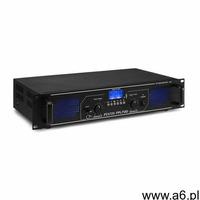 Fenton FPL700 Wzmacniacz cyfrowy 2 x 350 W Bluetooth odtwarzacz multimedialny port USB slot SD (8715 - ogłoszenia A6.pl