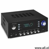 Fenton AV120FM, surround HiFi wzmacniacz, 120 W RMS, 2 x 60 W na 8 Ohm), BT/ USB/AUX - ogłoszenia A6.pl