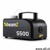 Beamz S500 Wytwornica mgły New Edition 500 W 50m³ z 250 ml fluidu do wytwarzania mgły - ogłoszenia A6.pl